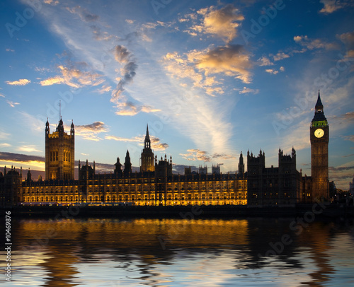 Photo House of Parliament in London, United Kingdom