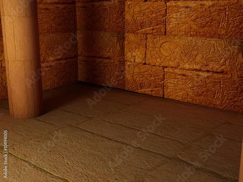 Fotografia High resolution image interior pyramid.