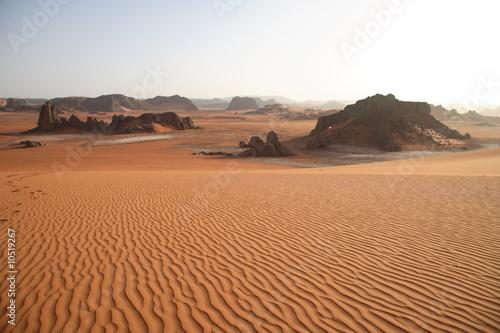 Poster Algérie Wüstenlanschaft