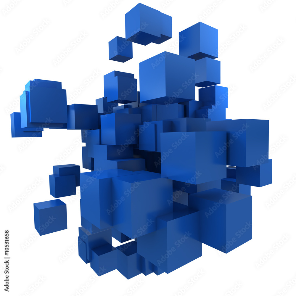 Fototapeta cube collection 14