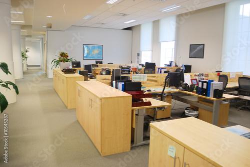 Staande foto Industrial geb. office work place