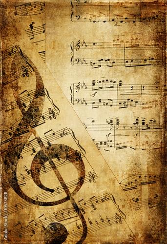 Papiers peints Retro vintage musical background