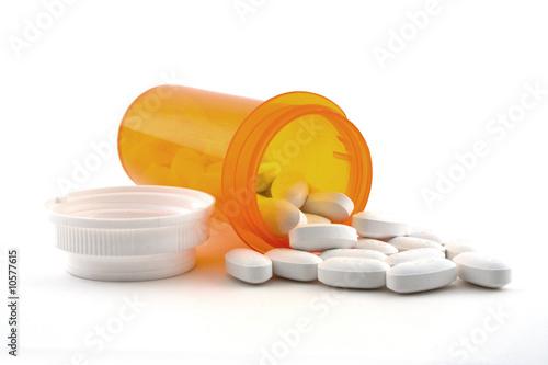 Obraz Prescription spilled - fototapety do salonu