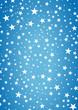 Weihnachten Sterne Blau