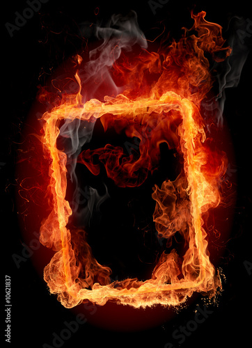 La pose en embrasure Flamme Fire frame