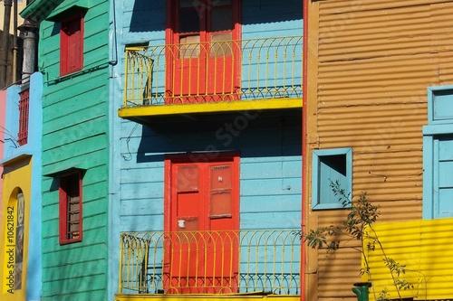 Deurstickers Buenos Aires caminito
