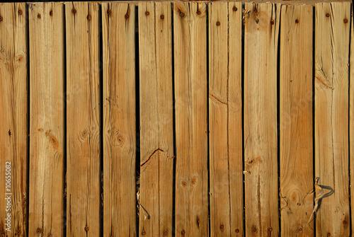 Photo  palissade en bois