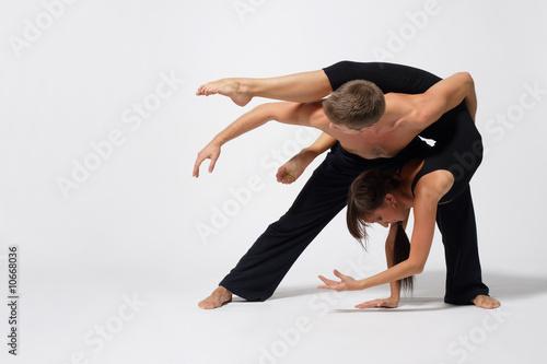 Küchenrückwand aus Glas mit Foto Tanzschule beautiful couple