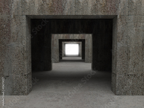 tunnel background