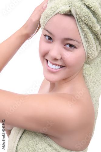 Foto op Plexiglas Spa Natural Beauty Woman