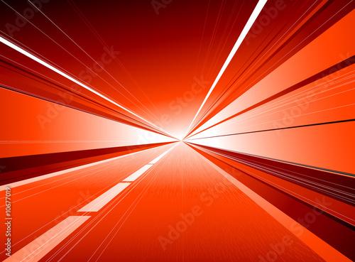 Fényképezés Red tunnel