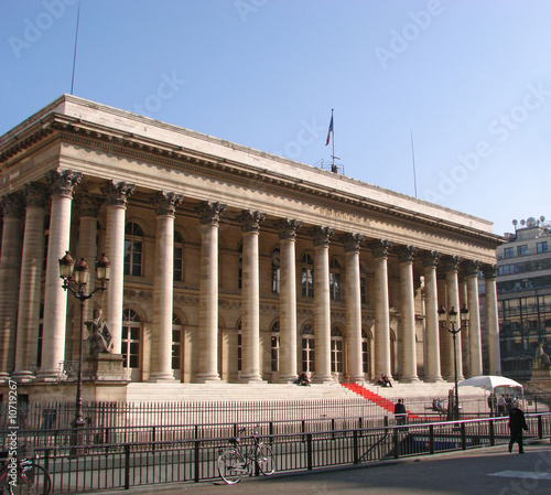 Photo  Paris - La place de la bourse