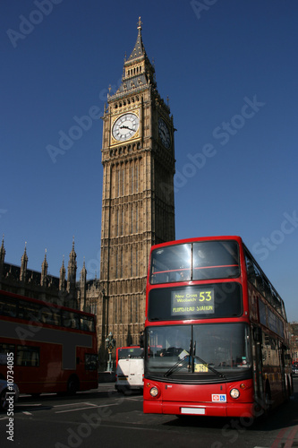 Türaufkleber London roten bus London
