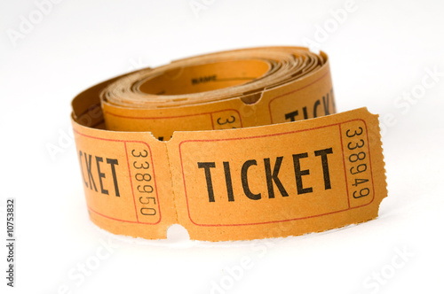 Fotografía  ticket stubs