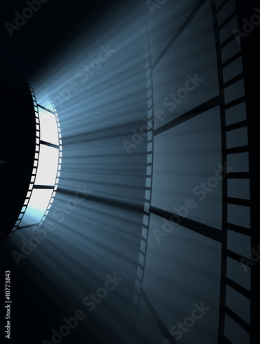Photo  Film Reel (Dark Room)