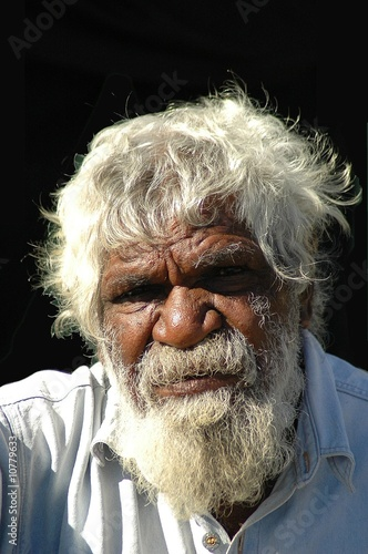 In de dag Australië OLD ABORIGINAL