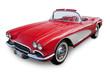 canvas print picture - Classic Convertible Sports Car