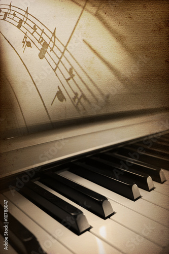Photo piano elegance