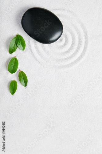 Foto op Plexiglas Stenen in het Zand Zen garden background