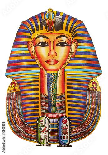 Obraz na plátně egyptian symbol - pharaoh drawing