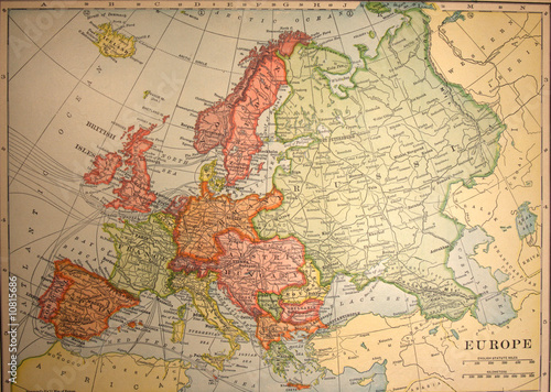mapa-starodawny-klasyczne-europa-stary