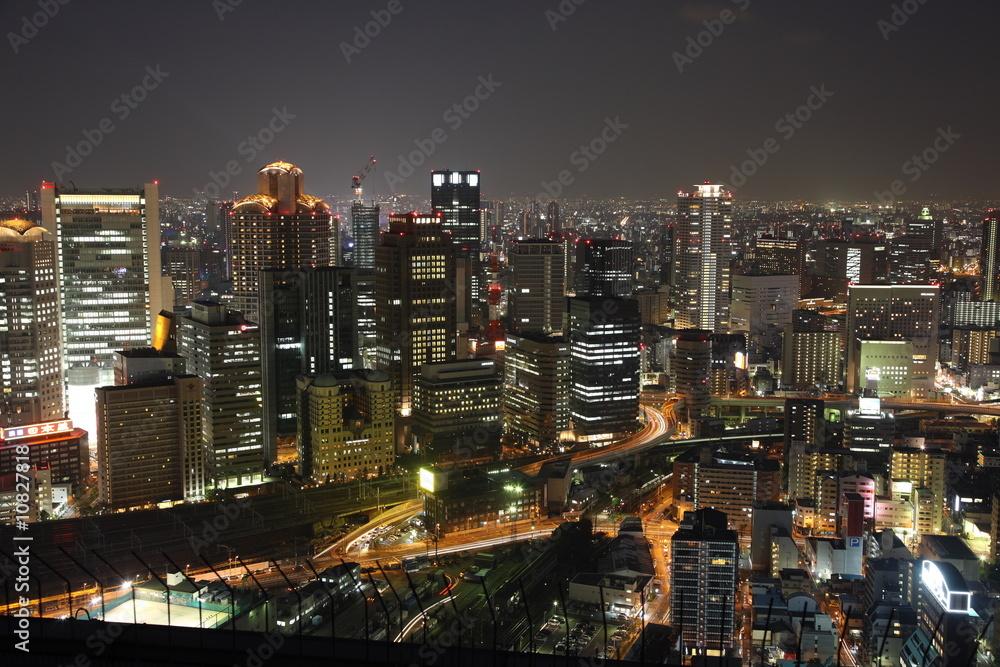 Foto-Lamellen (Lamellen ohne Schiene) - Tokio bei Nacht