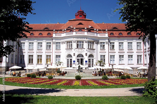 Fototapeta  Bad V-Kolonnaden in Karlovy Vary