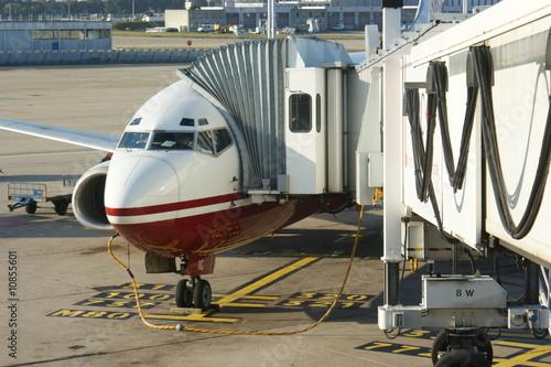 Flugzeug Billede på lærred