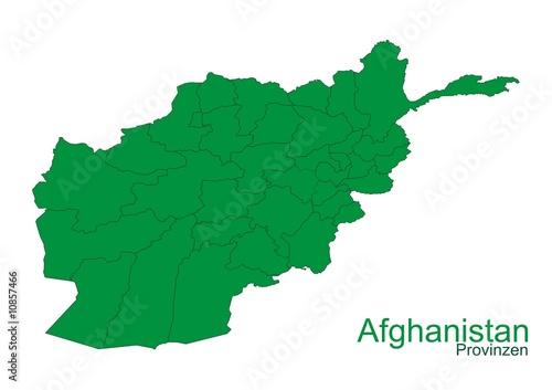 Afghanistan mit Provinzen @p(AS)ob