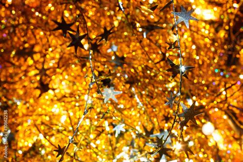 Spoed Fotobehang Berkbosje Christmas background