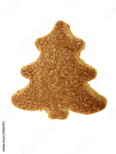 Traditional German Xmas Tree Cookies Tannenbaum Isolated Buy