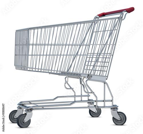 Fotografering  Shopping Cart
