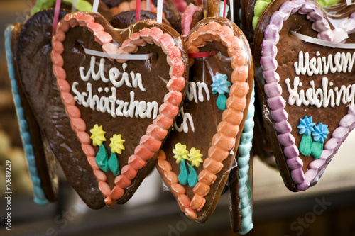 German Gingerbread Hearts Buy This Stock Photo And Explore Similar