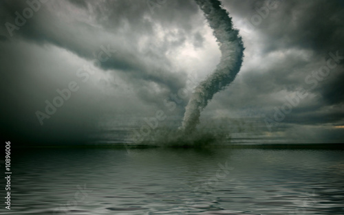 Fotografía tornado