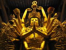 Buddistische Statue