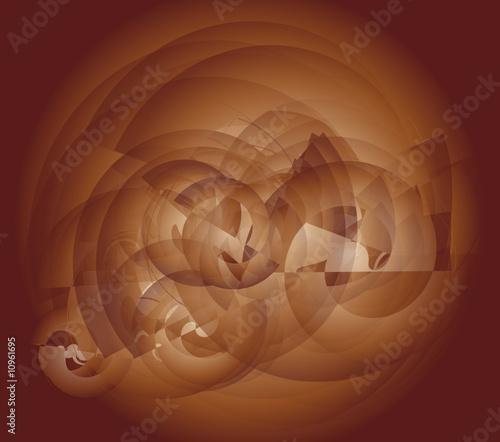 Fotobehang Klassieke abstractie sfondo marrone
