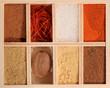 canvas print picture Spice box