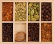 canvas print picture Spice box II