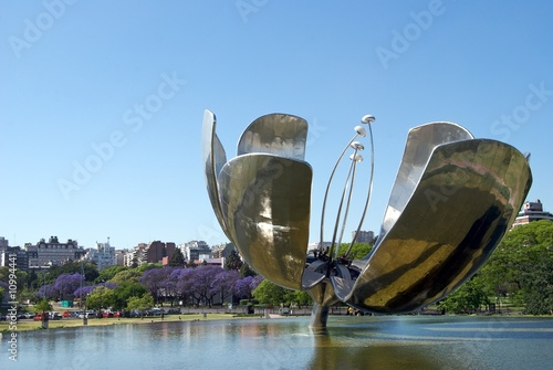 Tuinposter Buenos Aires Fontana Floralis Generica, Buenos Aires