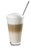 Frischer Milchkaffee