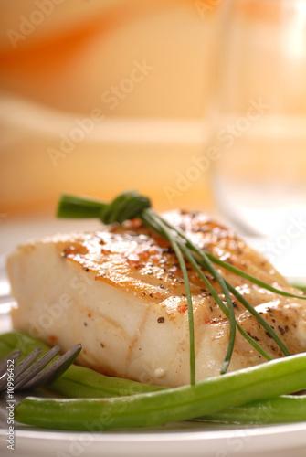 Poster Fish Cod filet
