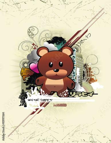 Urban bear composition