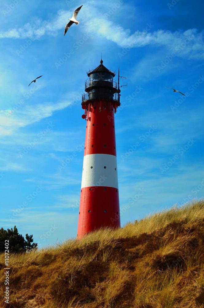 Foto-Lamellen (Lamellen ohne Schiene) - Leuchtturm Hoernum