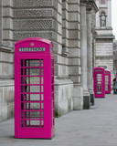 cabines téléphoniques à Londres - 11074253