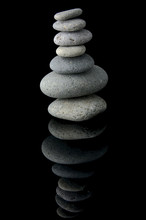 Tall Stone Stack