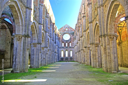 Photo Toscana, abbazia di S, Galgano 11