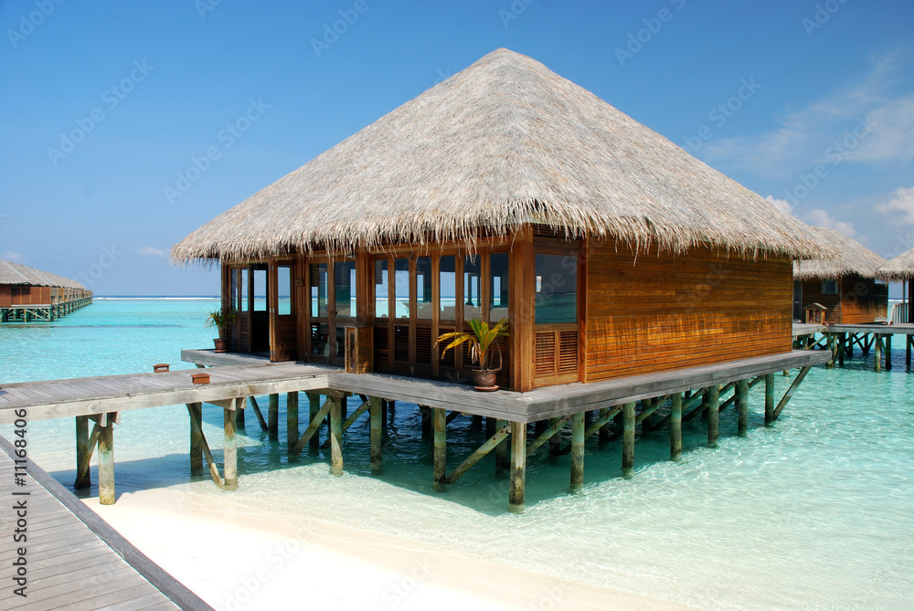 Photo Art Print Meeru Island Maldives Europosters