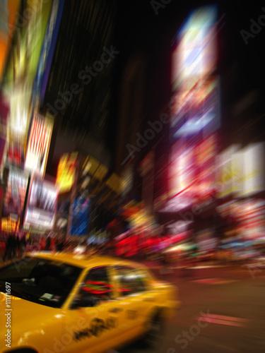 Foto op Plexiglas New York TAXI Times Square, New York