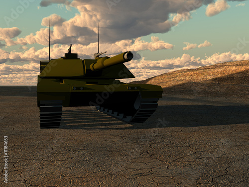 Foto op Canvas Militair War Tank