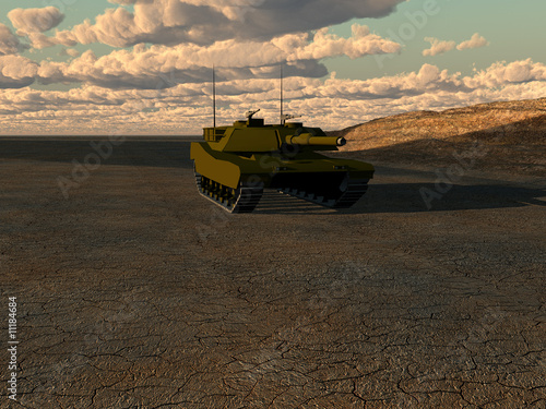 Foto op Canvas Militair War Tank 2